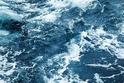 Splashing Waves,View Of Rippled Ocean Water