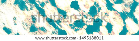 Splatter Backdrop. Aquarelle Art. Watercolor Smear. Splattered Chic Abstraction. Ethnic Zigzag Rapport. Ethnic Cloth Dirty Art. Indigo, Yellow, Cyan Splatter Backdrop.