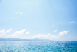 Splendid seascape of the calm Adriatic Sea. Location place of Dalmatia region, Balkans, Croatia, Europe. Scenic image of popular european health resort. Discover the beauty of earth.