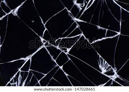 Split broken LCD screen (display) background
