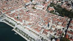 Split Croatia Oldtown Above City