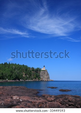 Split Rock lighthouse, Lake Superior north shore