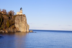 Split Rock Lighthouse on Lake Superior in Minnesota