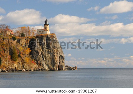 Split Rock Lighthouse on north shore of Lake Superior in Minnesota, USA