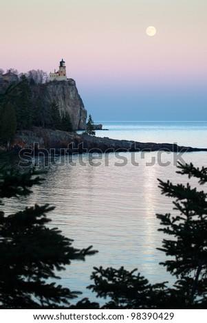 Split Rock Lighthouse on the North Shore of Lake Superior, Minnesota