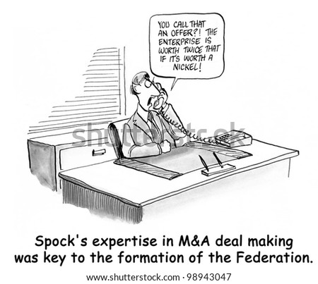 spock is an expert at merging for federation