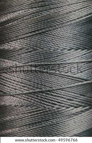 spool of thread macro texture