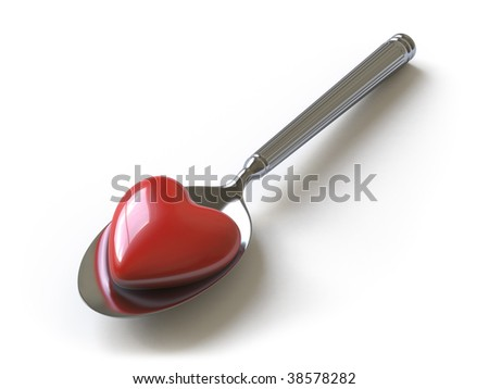 spoon. In my portfolio there is collection of pictures of heart. You only enter IN a SEARCH the Photographer Name: PAVEL IGNATOV and keyword: HEART