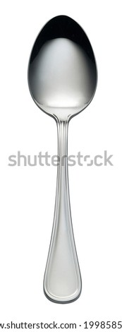 spoon isolted on white background Stock photo ©