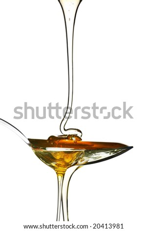 spoonful of deliciously sweet honey