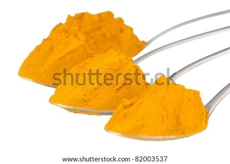 Spoonfuls of Pure Turmeric