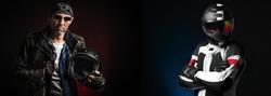 Sport biker vs classic biker