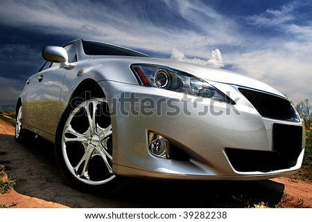 "stock photo sport car 39282238 - Каталог - Фотообои ""Автомобили"""