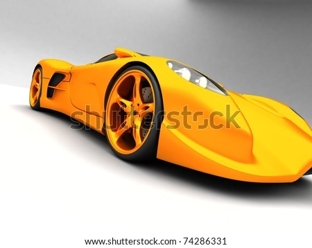 Sport Cars on Sport Car On White Background Stock Photo 74286331   Shutterstock