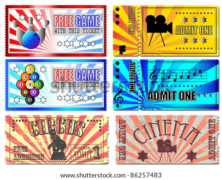 Sport, Cinema, Concert and Circus tickets