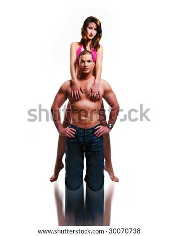 sport couple /sexy couple