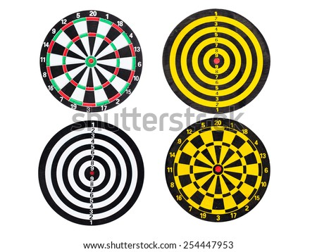 Sport Dart go to target and success