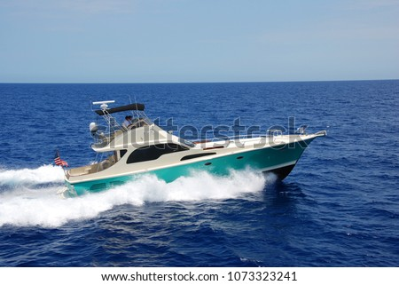 Sport Fishing Yacht