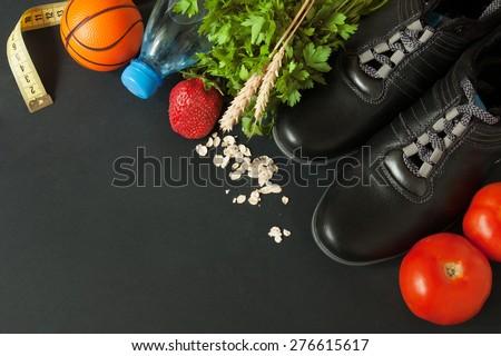 Sport food. Diet food
