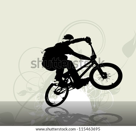 Sport illustration - stock photo