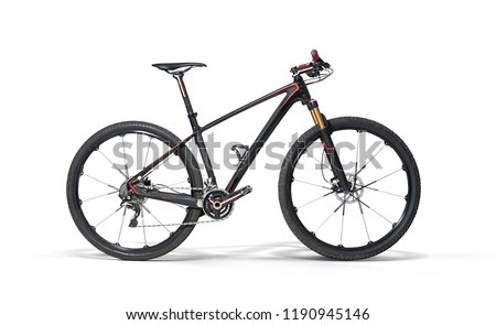 Sport. Isolated bicycle.