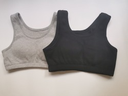 Sports bras for women  Sports bra for exercise  Underwear for women  Black  sports bra  Gray  Sports bra