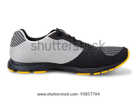 Sport shoe isolated on a white background