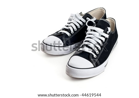 Sport shoes isolated on a white background