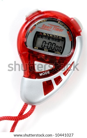 Sport Timer isolated on white background