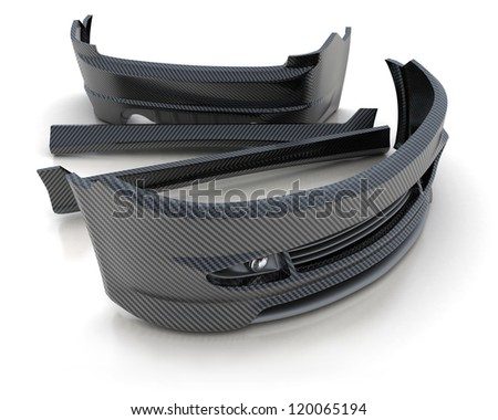 Sporting repair parts for an auto (3d)