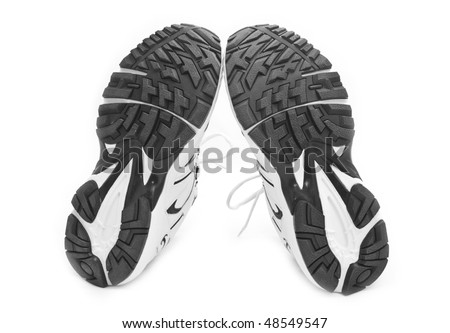 sporting shoe on a white background for your illustrations