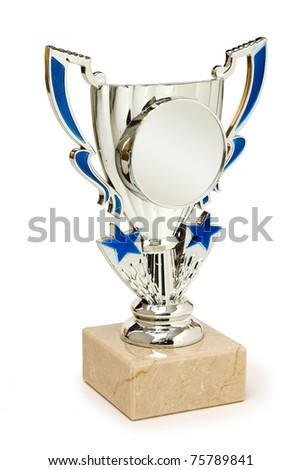 sports awards isolated on white background