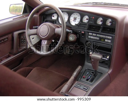 Toyota Supra Stock on Stock Photo Sports Car Cockpit Interior Toyota Supra 995309 Jpg