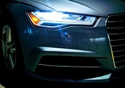Sports Car Front Headlight