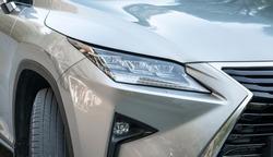 sports car headlight