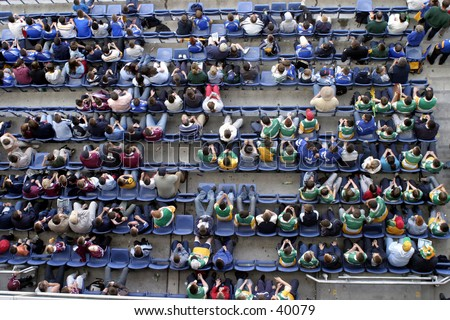 sports crowd