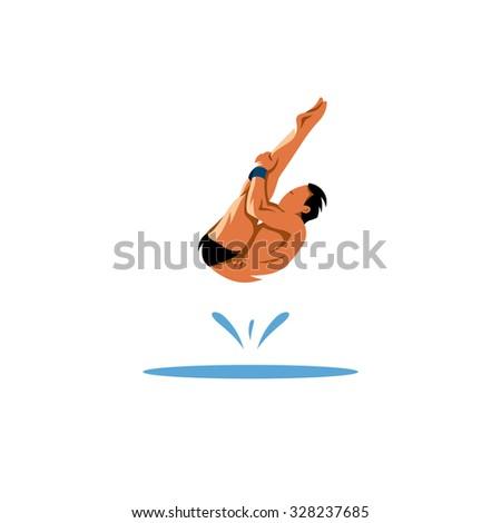 water jumping sport