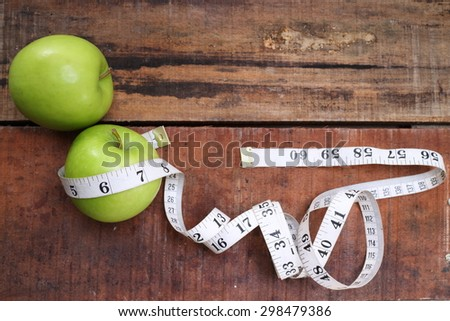 sports, fitness, concept of weight loss, diet, nutrition