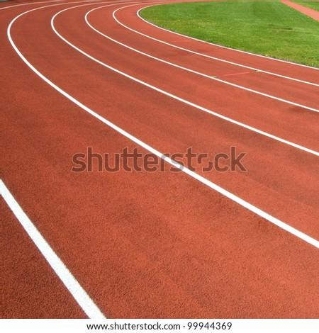 Sports ground curve