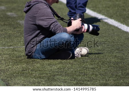 sports photographer journalist soccer football