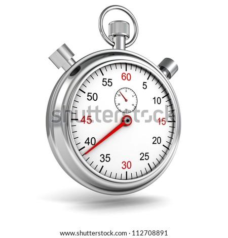 Sports Stopwatch on white background