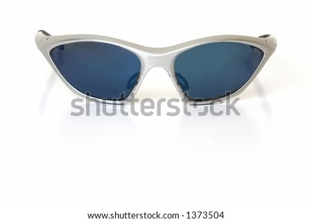 sports sunglasses head on view