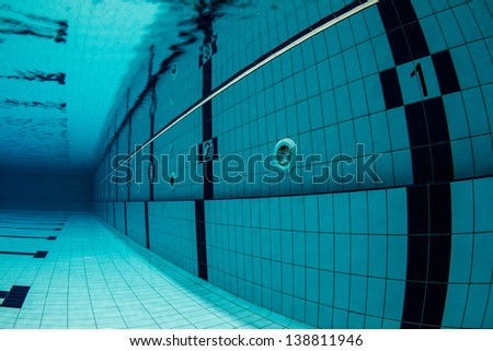 sports swimming pool underwater lanes underwater starting with number one swimming pool - Olympic Swimming Pool Underwater
