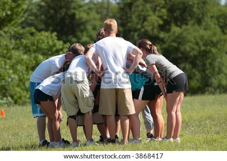 Sports Team Huddle 2