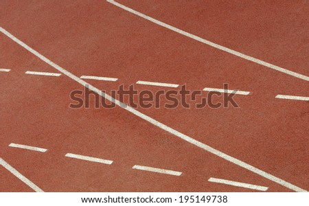 Sports  venue  running track background