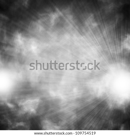 Spotlight abstract background of light