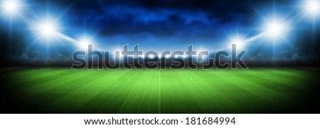 spotlights - Shutterstock ID 181684994