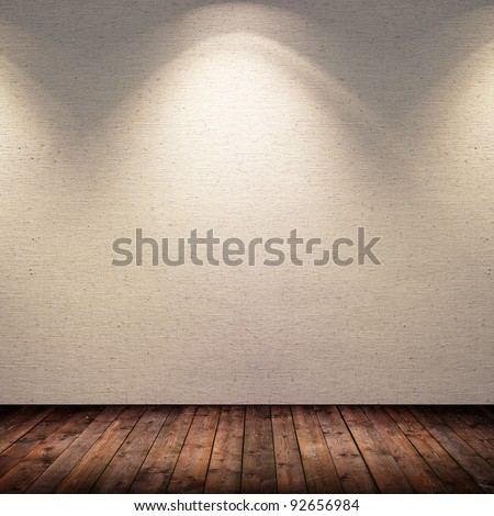 spotted room - stock photo
