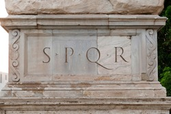 SPQR is an initialism of the ancient Latin phrase meaning: