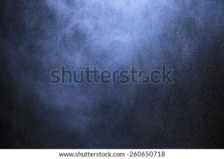 spray from the atomizer spray on black background overlay #260650718